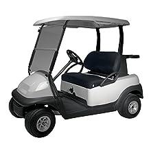Classic Accessories Fairway Golf Cart Diamond Air Mesh Bench Seat Cover, Black