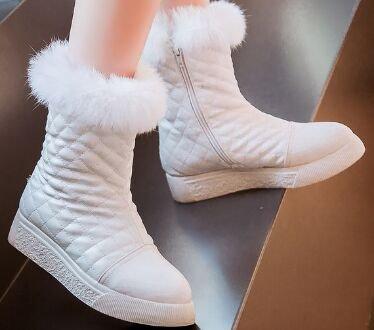 Laruise Women's Snow Boots White 0gICS