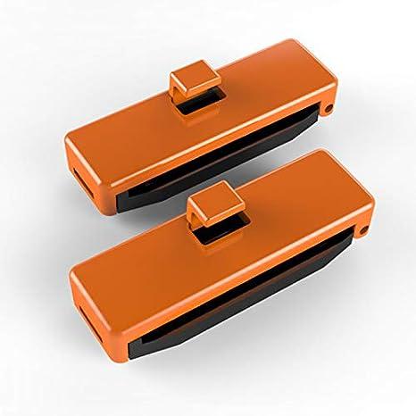 ETbotu 2 Pcs Adjustable Seat Belt Buckle Cover Protective Anti-Scratch Belt Clips Safety Stopper Belt Clips black