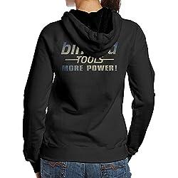 SBPZEB Binford Tools Home Improvement TV Series Sport Women's Hooded Sweatshirt XL Black