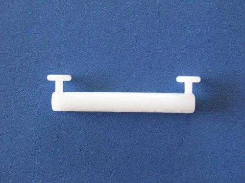Schlaufengleiter 50 mm zum Dekorieren von Schlaufenschals an einer Gardinenstange oder Gardinenschiene, 10 Stück, 1010