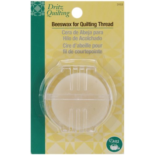 Dritz 3153 Beeswax for Quilting Thread with Holder ()