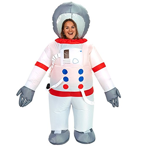 [Astronaut Inflatable Adult Costume - One-Size] (Inflatable Astronaut)