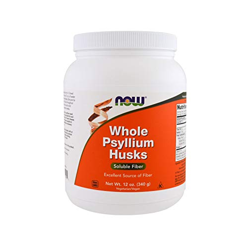 - NOW Supplements, Whole Psyllium Husks, 12-Ounce