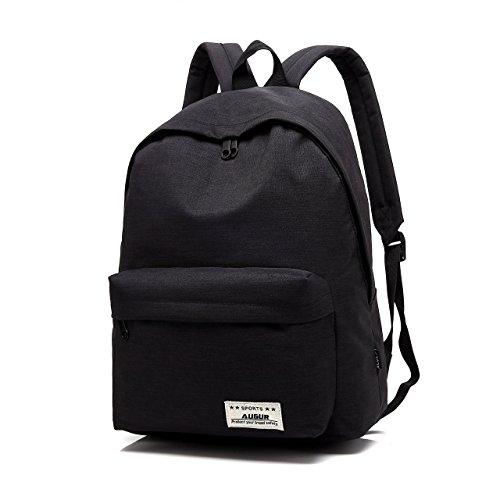 Basic School Water Travel 14 Unisex Lightweight inch Black Rucksack Blue Daypack Backpack Classic Resistant Augur L Laptop vwTqxIXEn