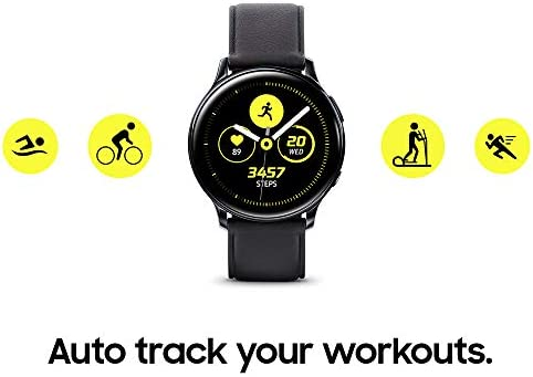 Samsung Galaxy Watch Active 2 (40mm, GPS, Bluetooth) Smart Watch with Advanced Health Monitoring, Fitness Tracking, and Long lasting Battery, Pink Gold (US Version) 4