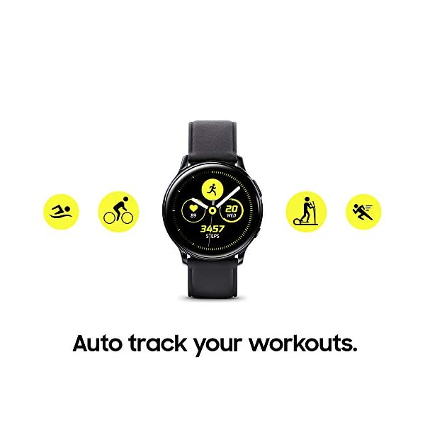 Samsung Galaxy Watch Active 2 (40mm, GPS, Bluetooth) Smart Watch with Advanced Health monitoring, Fitness Tracking , and… 4