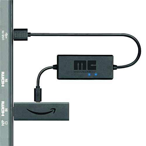 Large Product Image of Mission USB Power Cable for Amazon Fire TV 4K (Eliminates the Need for AC Adapter)