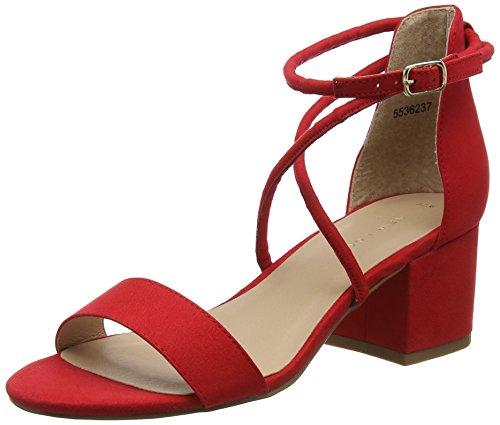 60 Look New Escarpins Rouge Bride Femme Cheville Salamanca Red Bright Ozqdcq