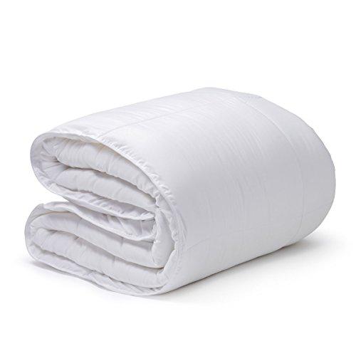 SanCarlos-Boreal Couette en Fibre Creuse siliconée 300 g/m² Couleur : Blanc 90 cm