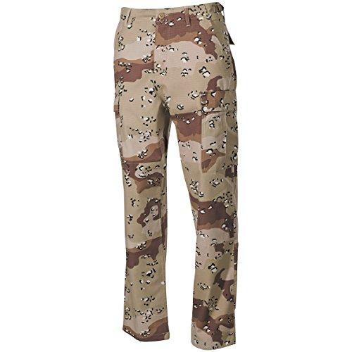 MFH BDU Pantalons de combat Ripstop 6-Color Desert