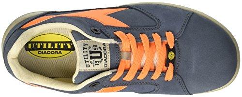 Sbiadito Unisex Denim Flame Lavoro D S3 adulto Scarpe Low arancio Da Diadora jump blu Esd Blu OUqM8R8CK