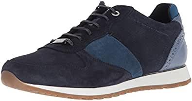 Ted Baker Men's Shindl Sneaker, Blue/Multi Suede, 7 D(M) US
