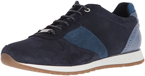 Ted Baker Men's Shindl Sneaker Blue/Multi Suede free shipping comfortable PAl3r