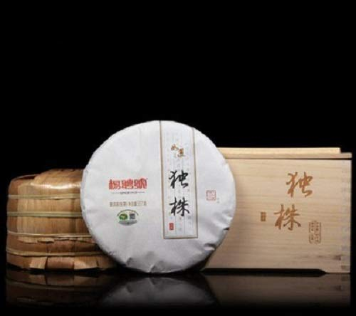 Yunnan Raw Puer Tea Cake Aged Pu-erh Black High Mountain Tea 357g Organic Sheng Tea Christmas Gift Box