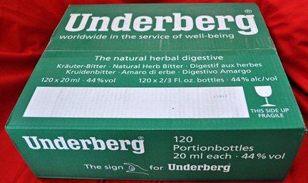 Underberg - Full Case - 120 Bottles - House Bar Pack by Underberg