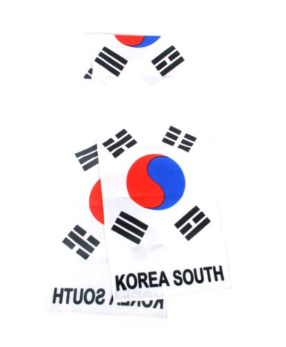 National Pride World Cup Scarves (Korea South)