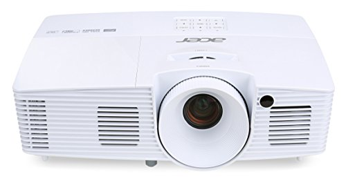 Acer H6517ABD Full HD DLP-Projektor (3D, 3400 ANSi Lumen, Kontrast 20.000:1, 1920 x 1080 Pixel, 144 Hz Triple Flash, HDMI/MHL) weiß