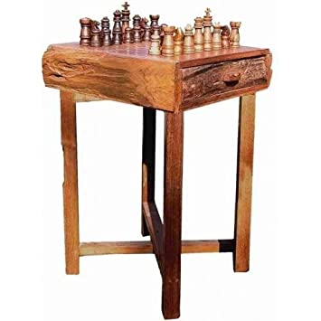 Beautiful Hill Country Small Chess Table
