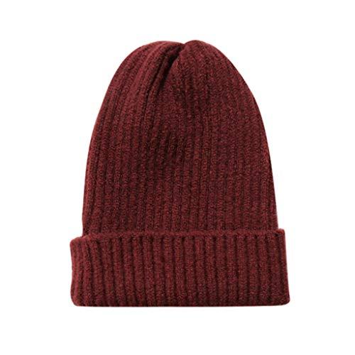 Kolylong Winter Hat Unisex Winter Headgear Warm Hat Men Women Ear Warm Hat