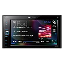 "PIONEER MVH-AV290BT 6.2"" Double-Din In-Dash Digital Media A/V Receiver with Bluetooth, Black"