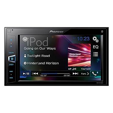 Pioneer MVH-AV290BT 6.2 Double-DIN In-Dash Digital Media A/V Receiver with Bluetooth