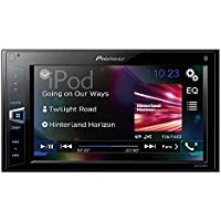 Pioneer MVH-AV290BT 6.2 Double-DIN In-Dash Digital Media A/V Receiver with Bluetooth