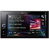 Pioneer MVH-AV290BT 6.2' Double-DIN In-Dash Digital Media A/V Receiver with Bluetooth
