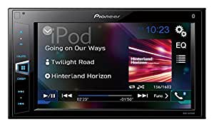 "PIONEER MVH-AV290BT 6.2"" Double-Din In-Dash Digital Media A/V Receiver with Bluetooth, Black"