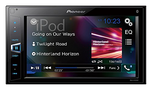 Pioneer MVH-AV290BT 6.2' Double-DIN In-Dash Digital Media A/V Receiver with Bluetooth