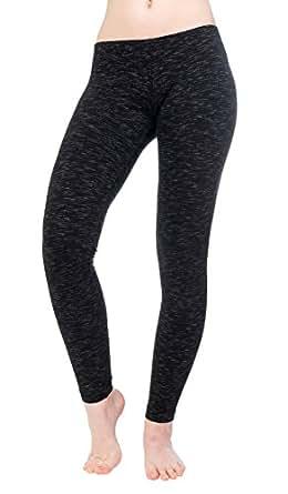 Hard Tail Ikat Basic Ankle Legging (black) (small)