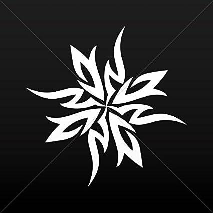 Amazon.com: Decal Sticker Tribal Tattoo Ninja Stars Tablet ...