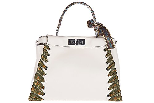 Fendi-womens-leather-handbag-shopping-bag-purse-peekaboo-regular-beige