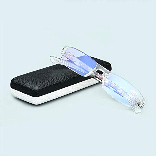 lecture ultra KOMNY de Lunettes pour hommes lecture lunettes de léger bleu Blu confortable simple fatigue résine et vieil anti 1 haute élégant et 165 femmes 250 A homme définition ray B lunettes Anti 400 xE5ad5qw