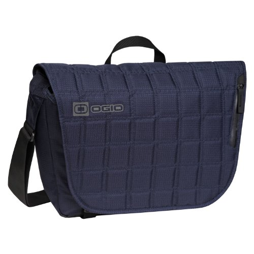 OGIO Tactic 13 Messenger Bag, Small, Blue