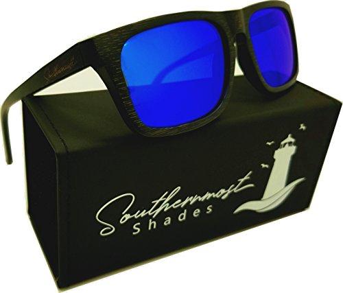 Real Bamboo Wood Sunglasses Men & Women -100% Polarized Lenses- Wooden Frame