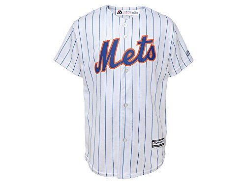 (Majestic Matt Harvey New York Mets #33 Youth Cool Base Home Jersey (Youth Large 14/16))