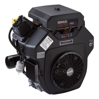 Kohler Command Pro V-Twin OHV Horizontal Engine with Electric Start - 725cc, 1 7/16in. x 4 29/64in. Shaft, Model# PA-CH740-3005