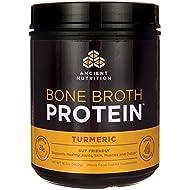 Ancient Nutrition, Turmeric Bone Broth Protein, 460 Gram