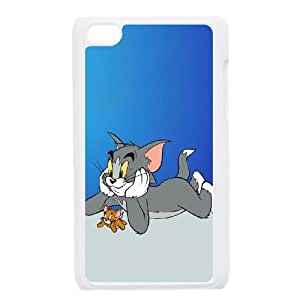 iPod Touch 4 Case White Tom and Jerry 4 LV7045992