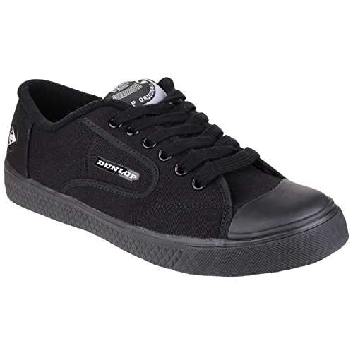 Flash Non Trainers Marking Mens Trainer DU1555 Dunlop Black Sports Green Unisex pqR5gg