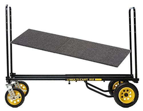 Rock N' Roller Multi Cart R12RT Dolly 500 lb Capacity Hand Truck, R Trac & DECK