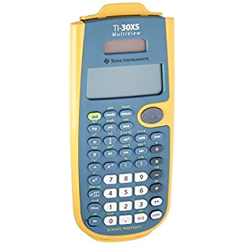 Image of Basic Texas Instruments TI-30XS MultiView Teacher Kit Pack, Yellow