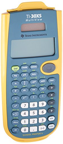 - Texas Instruments TI-30XS MultiView Teacher Kit Pack, Yellow