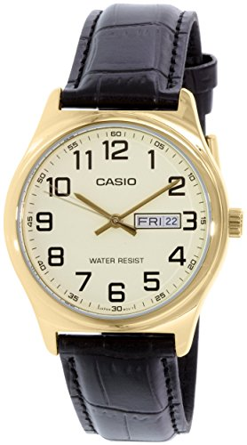 Casio MTP V00GL 9B Standard Analog Leather