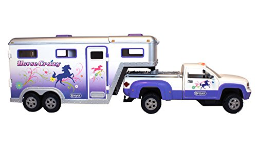 Breyer Stablemates Horse Crazy Truck and Trailer - Horse At Wild Outlets