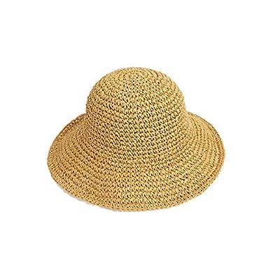Elegant Summer Women Hats Collapsible Sun Beach Panama Straw hat Leisure Holiday Raffia Cap