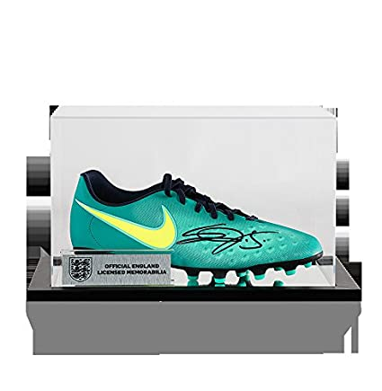 67a88b0cbac90 Image Unavailable. Image not available for. Color  Eric Dier Official  England Autographed Signed Nike Magista Boot In Acrylic Case ...