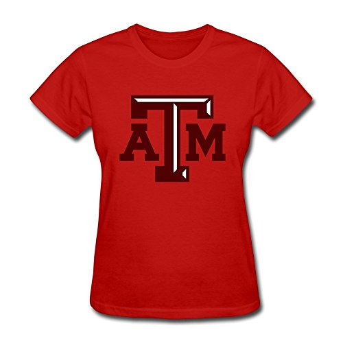EnHui Custome Girl Texas A M University Normal Fit T-shirts -
