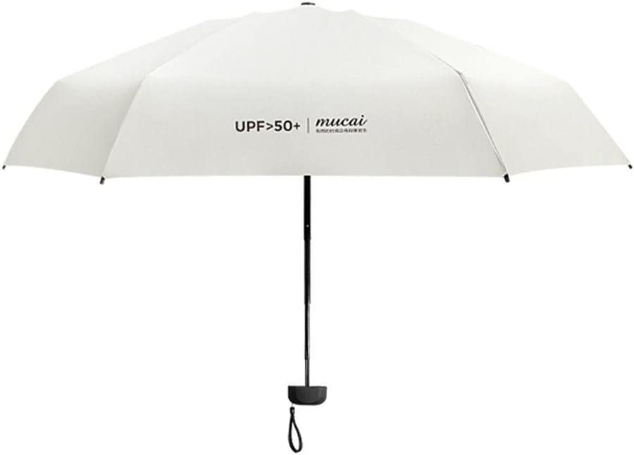 Unbekannt per Mini Regenschirm Licht /& Compact Folding Reise Regenschirm Anti-UV SPF 50 f/ür Sunny /& Rainy Day